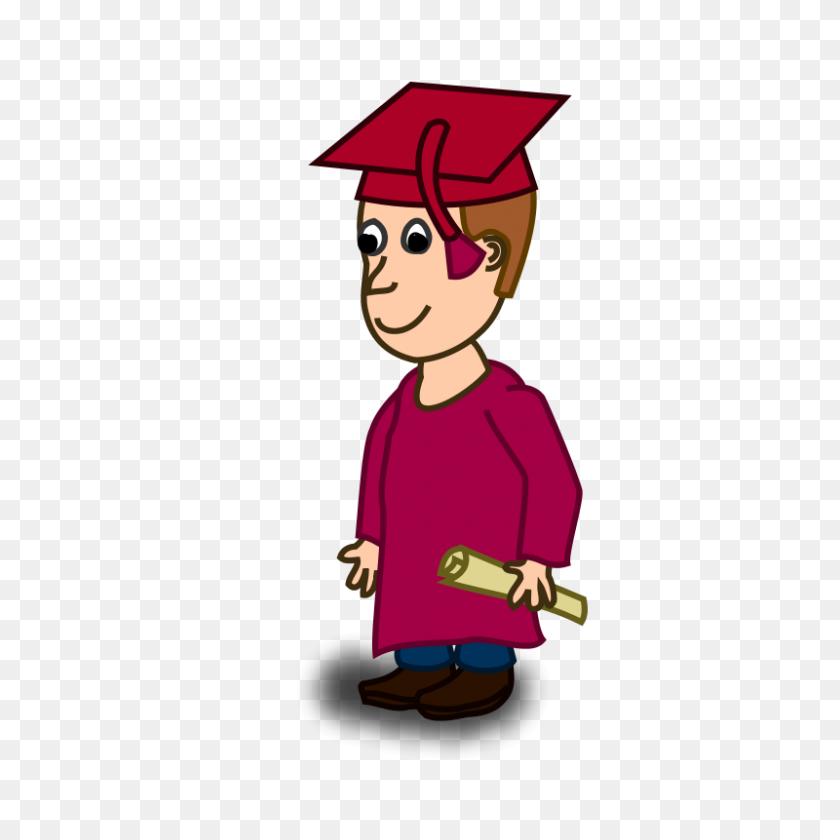Free Graduation Clipart - Red Graduation Cap Clipart