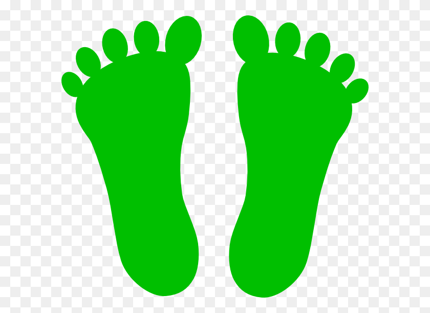 600x551 Free Green Foot Cliparts - Monster Feet Clipart