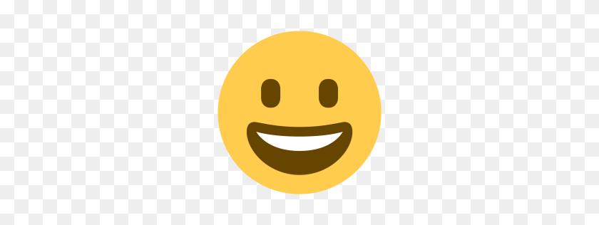 Free Grinning, Face, Smile, Emoji, Happy Icon Download Png - Smile Emoji PNG