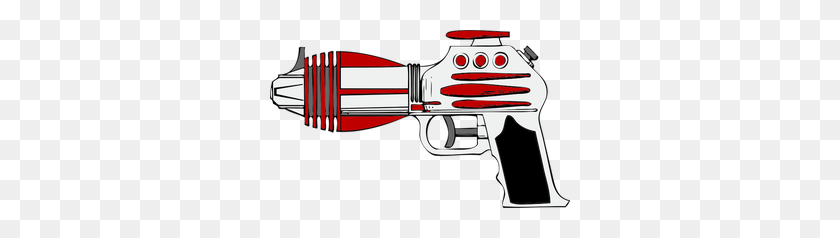 Free Gun Vector Image - Ray Gun Clipart