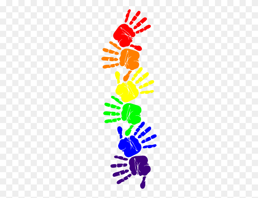 Free Handprint Clipart Free Handprint Clip Art Images - Preschool Art Clipart