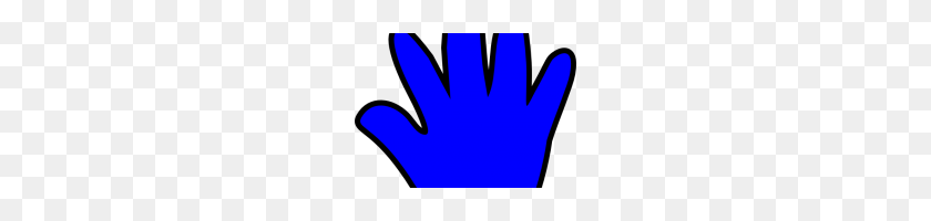 Free Handprint Clipart Free Handprint Clipart Child Handprint Blue - Kid Handprint Clipart