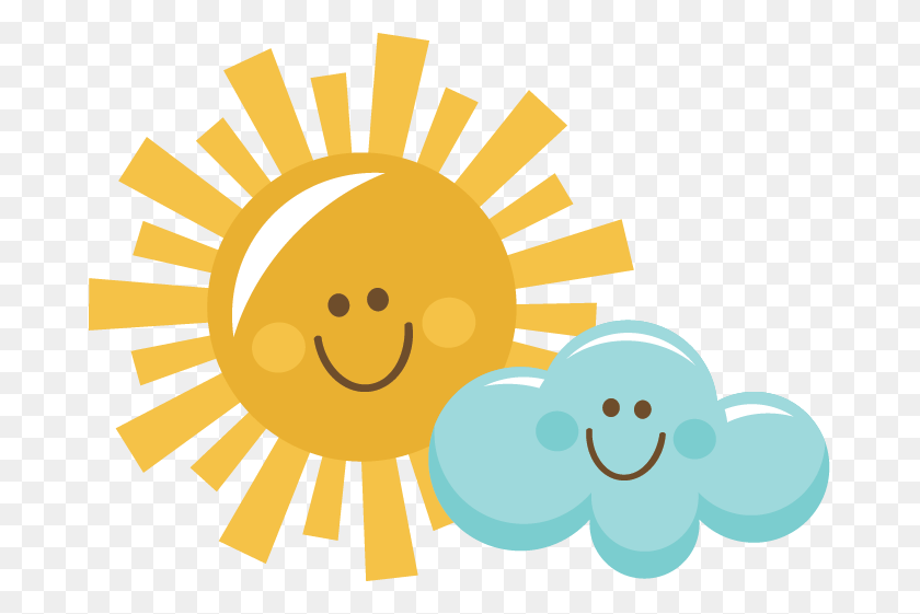 Free Happy Sun Pictures - Sun And Moon Clipart