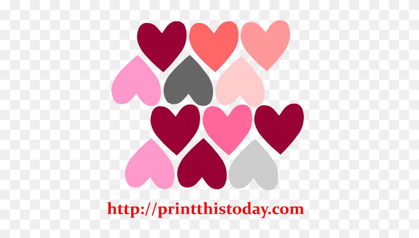 Free Hearts Clip Art - Pink Heart Clipart
