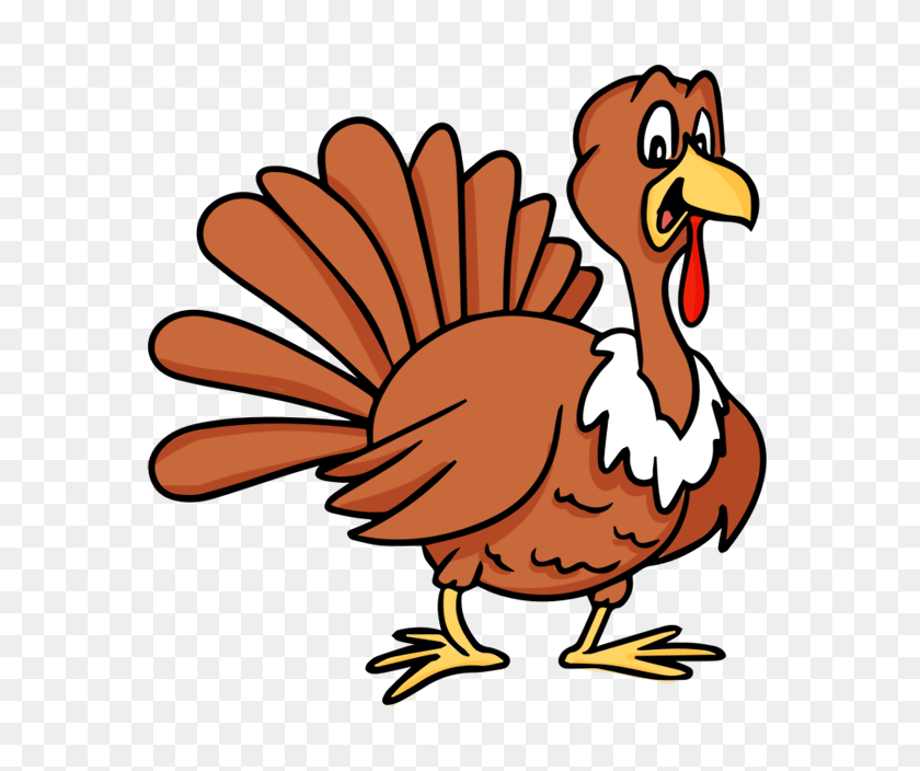 Free High Quality Cliparts - Happy Thanksgiving Turkey Clipart