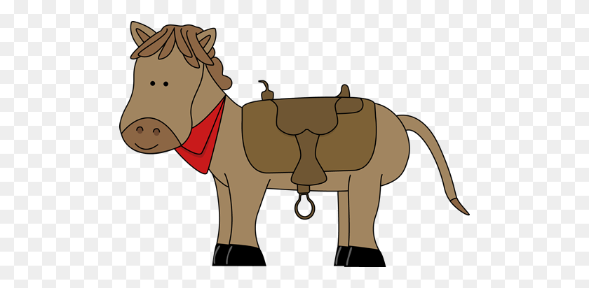 Free Horsewestern Clipart Preschool Horse Horses - Saddle Clipart