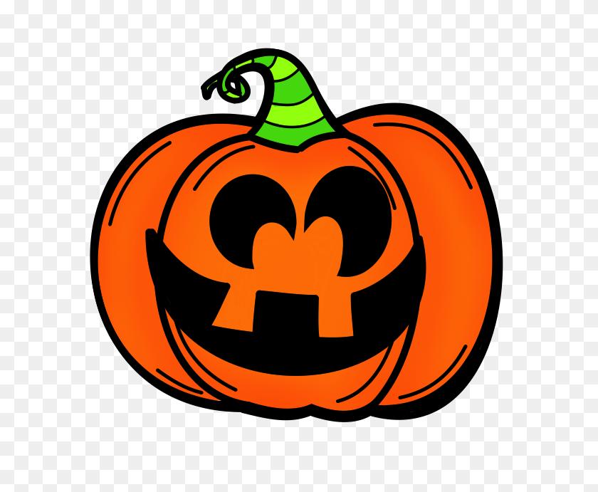 Free Jack O Lantern Clipart - Pumpkin Border Clipart