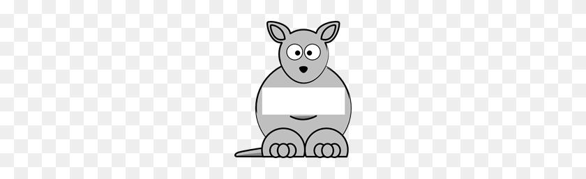 Free Kangaroo Clipart Png, Kangaroo Icons - Kangaroo Clipart Black And White