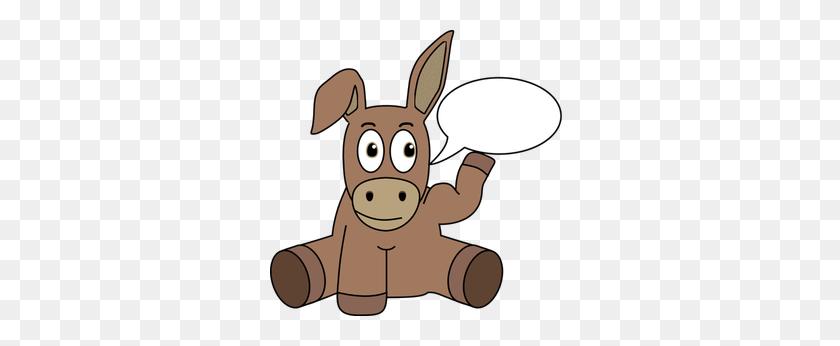 Free Kicking Donkey Vector - Donkey Clipart