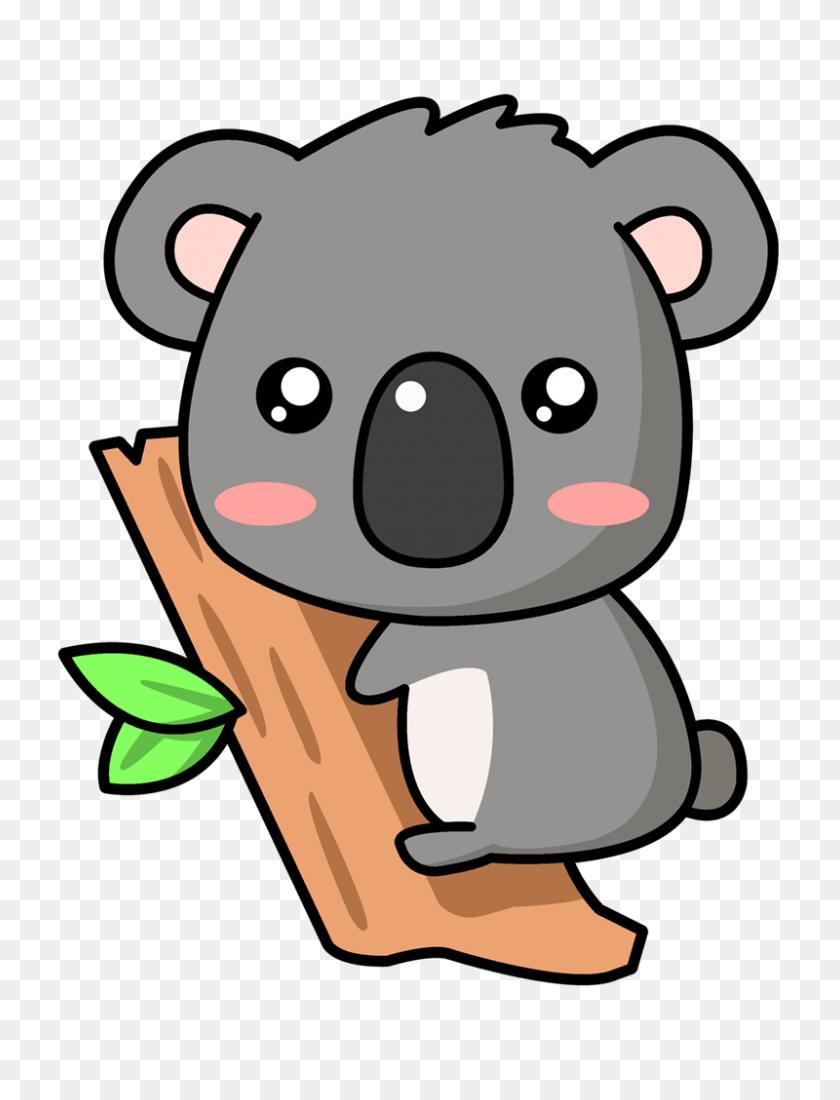 Free Koala Clipart - Hug Clipart