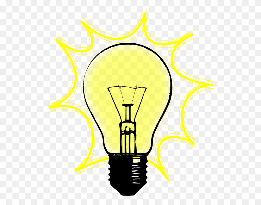 Transparent Library Bright Idea Clipart Light Bulb Gif ...
