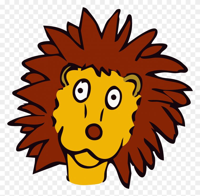 Free Lion Line Art Free Drawn Lion - Lion Face PNG