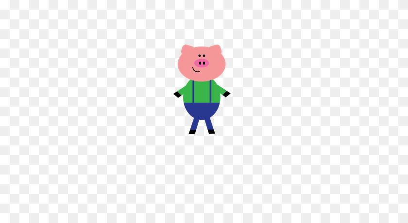 Free Little Pigs Character Clip Art Reading Workshop - 3 Little Pigs Clipart
