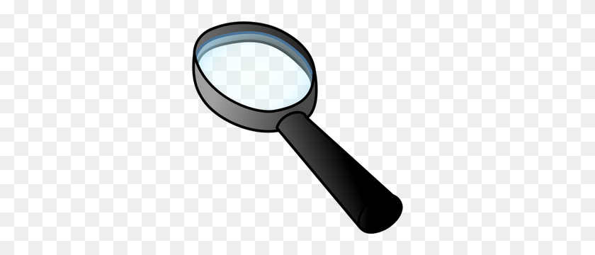 298x300 Free Magnifying Glass Vector - Lupa Clipart