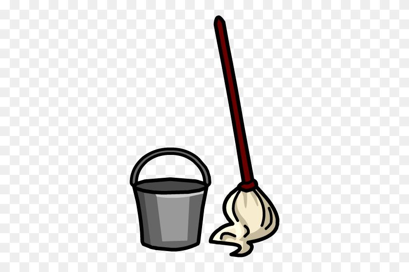 Free Mop Clip Art - Milk Can Clipart
