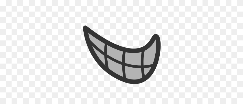 Free Mouth Clipart Png, Mouth Icons - Open Mouth Clipart Black And White