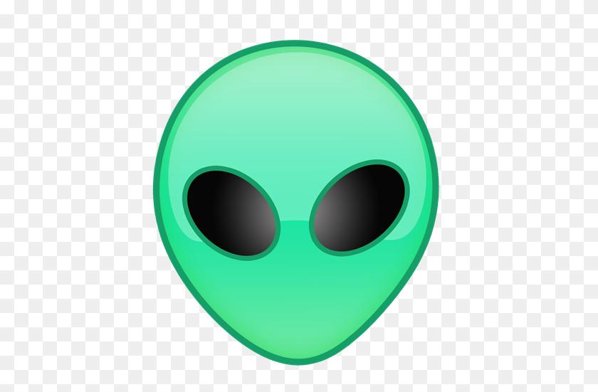 Download Alien Emoji Winking Clipart - Alien Emoji PNG