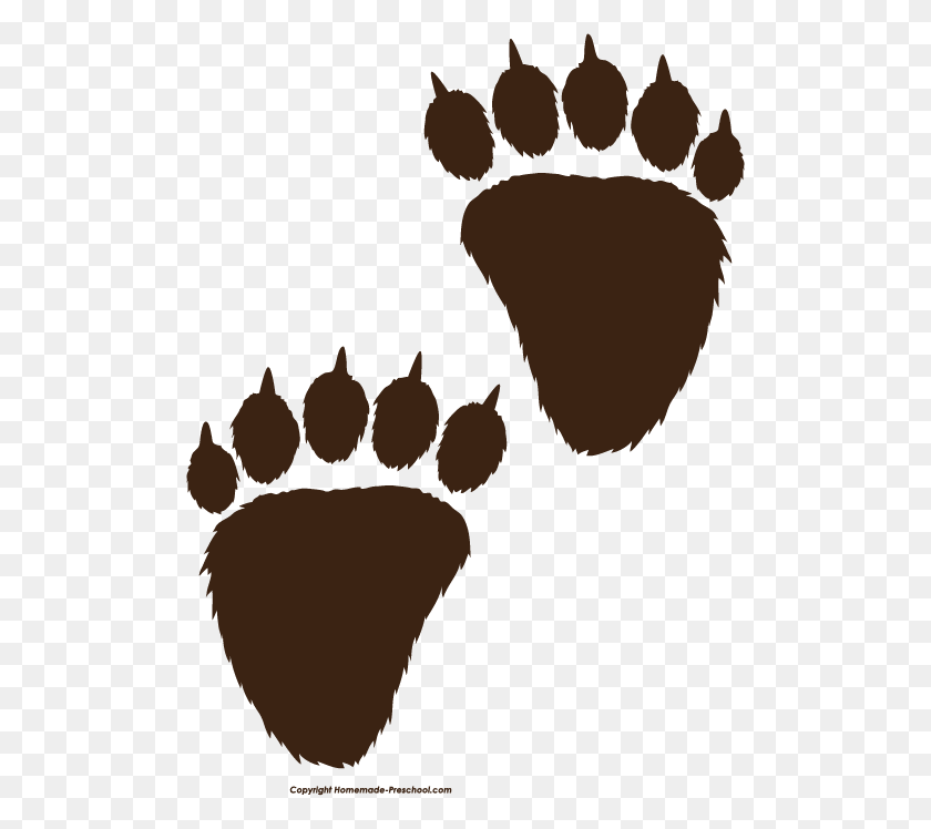Pawprint Clipart Dog Tracks - Paw Print Heart Clipart Png, Transparent Png  - kindpng