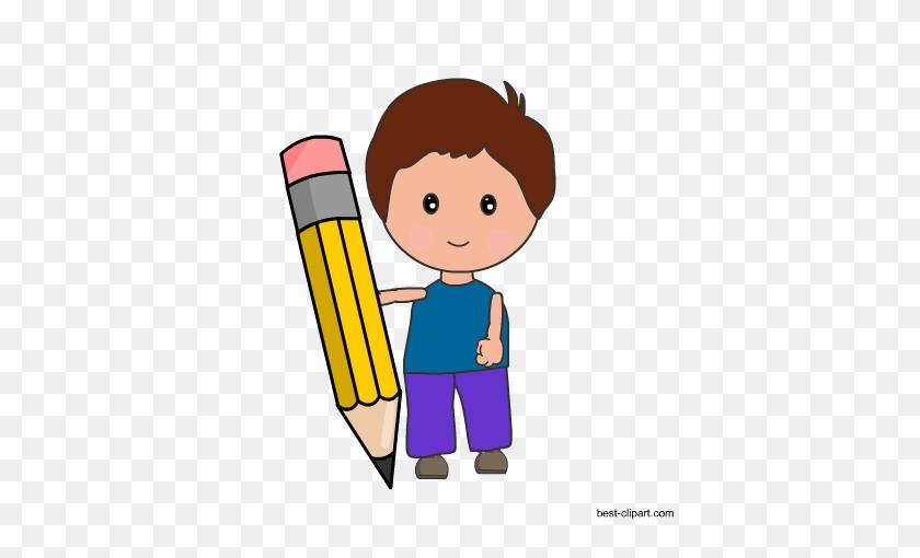 Free Pencil Clip Art - Pencil Outline Clipart