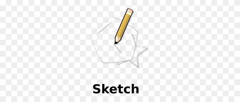 Free Pencil Sketch Clipart - Pencil Outline Clipart