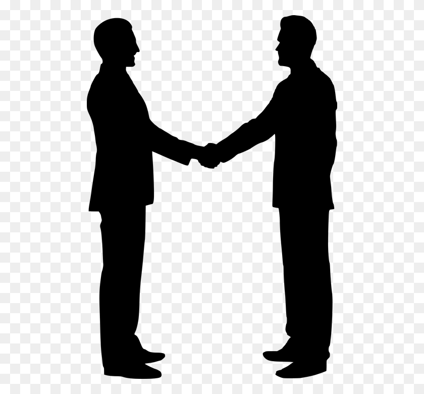 Free Photo Shaking Hands Team Building Handshake Silhouette - Shaking Hands PNG