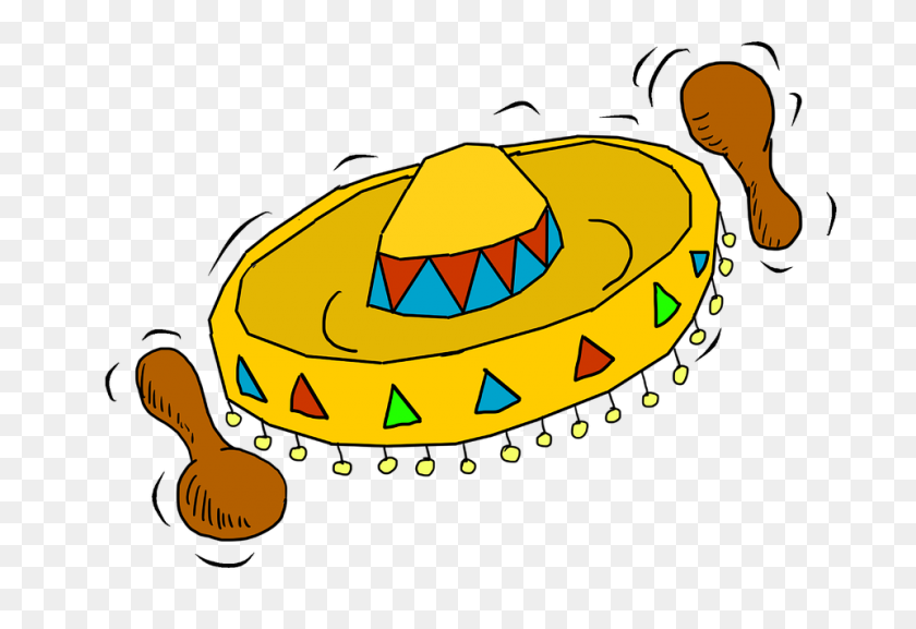 Free Photo Sombrero Hat Mexican Hat Straw Hat Maraca Mexico - Maraca PNG