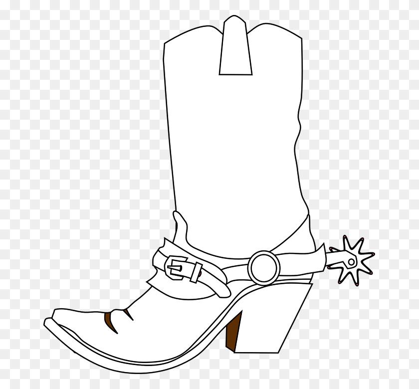 Free Png Hd Cowboy Boots Transparent Hd Cowboy Boots Images - Cowboy Boot Clipart