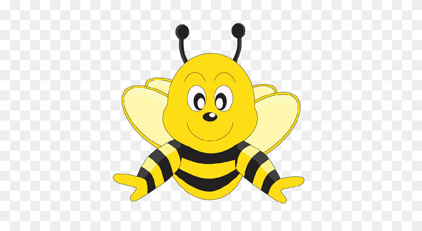 Free Png Honey Bee Transparent Honey Bee Images - Cute Bee Clipart
