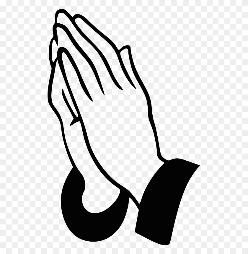 Free Praying Hands Miscellaneous Praying Hands, Hands, Art - Worship Clipart Black And White