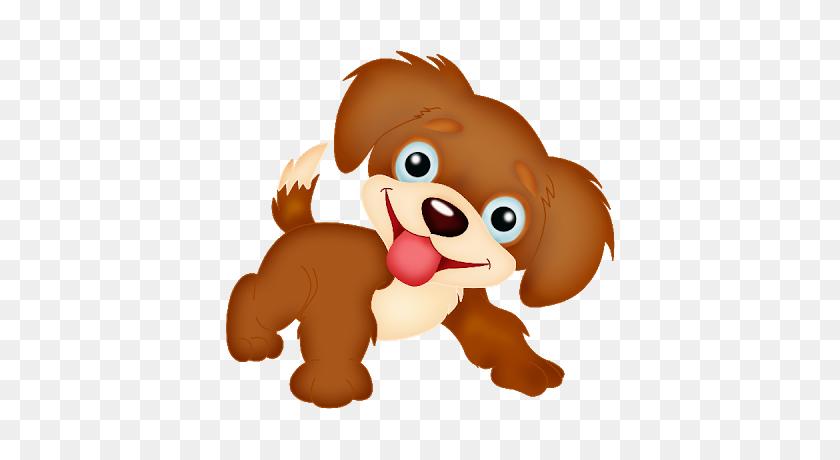 Free Puppy Clipart - Cute Bulldog Clipart