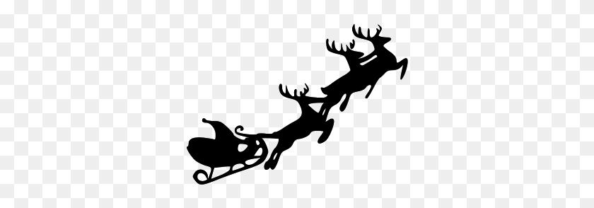 Free Reindeer Clipart Santa Claus Reindeer Clip Art Pictures - Santa Reindeer Clipart