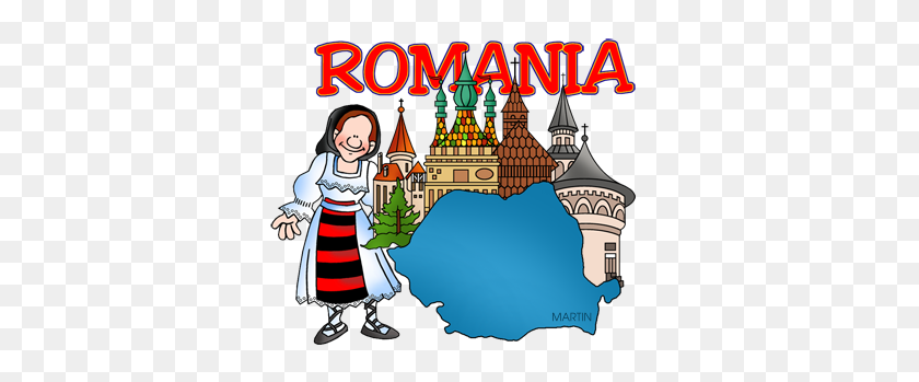 360x289 Free Romania Clip Art - Lynx Clipart