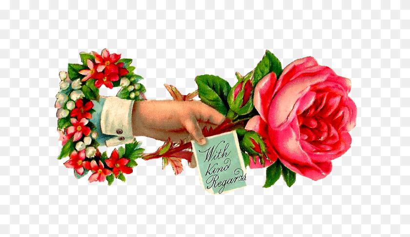 Free Rose Clip Art Pink Rose - Pink Rose Clipart