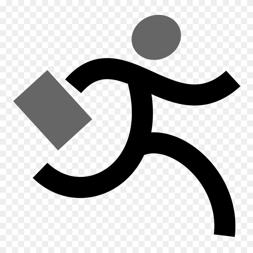 Free Runner Clip Art - No Running Clipart