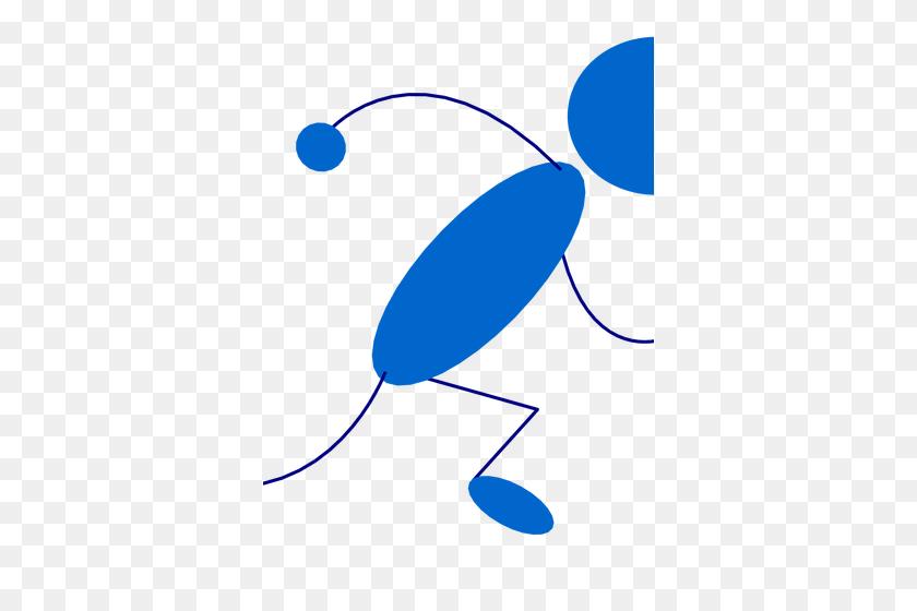 Free Running Man Vector Icon - Running Man Clipart