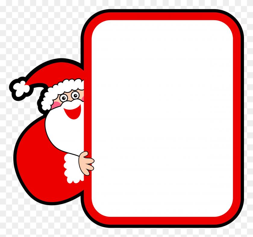 Free Santa Claus Clipart - Santa Claus Clipart Black And White