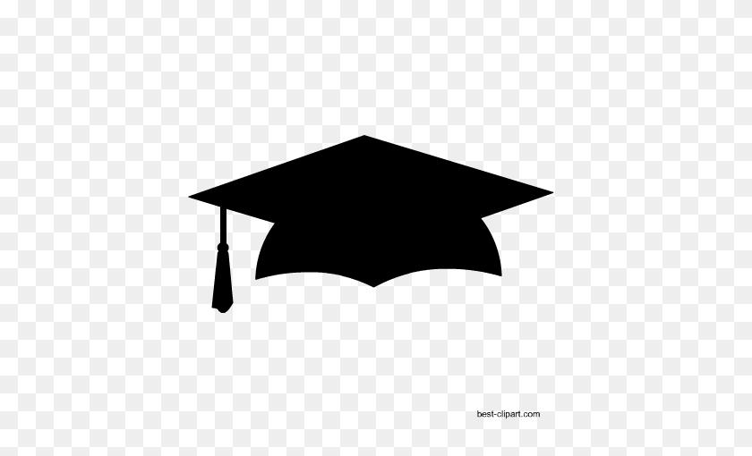 Free School And Classroom Clip Art - Red Graduation Cap Clipart