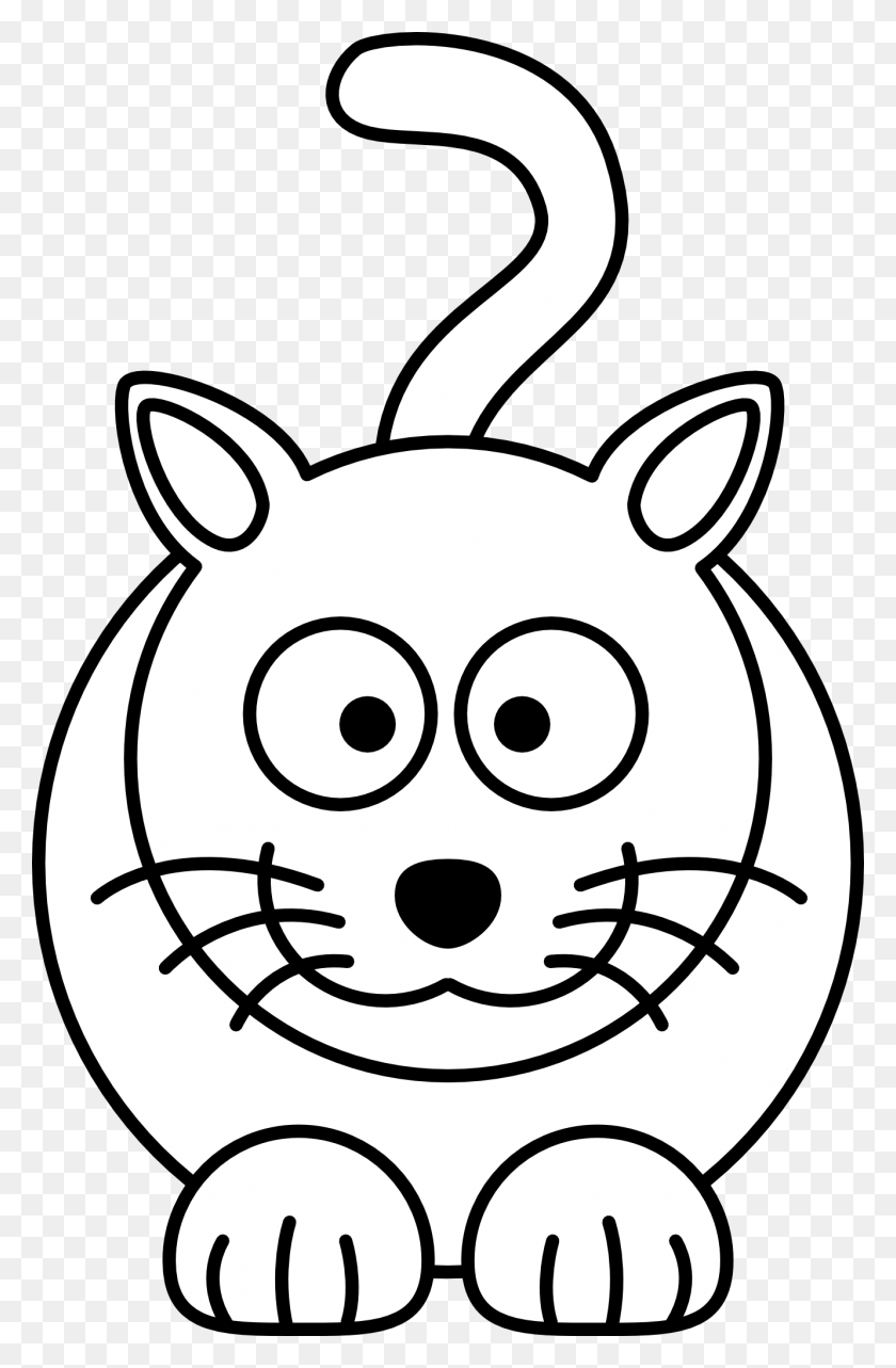 Free Simple Line Drawings Line Art Coloring Book Colouring - Spinne Clipart