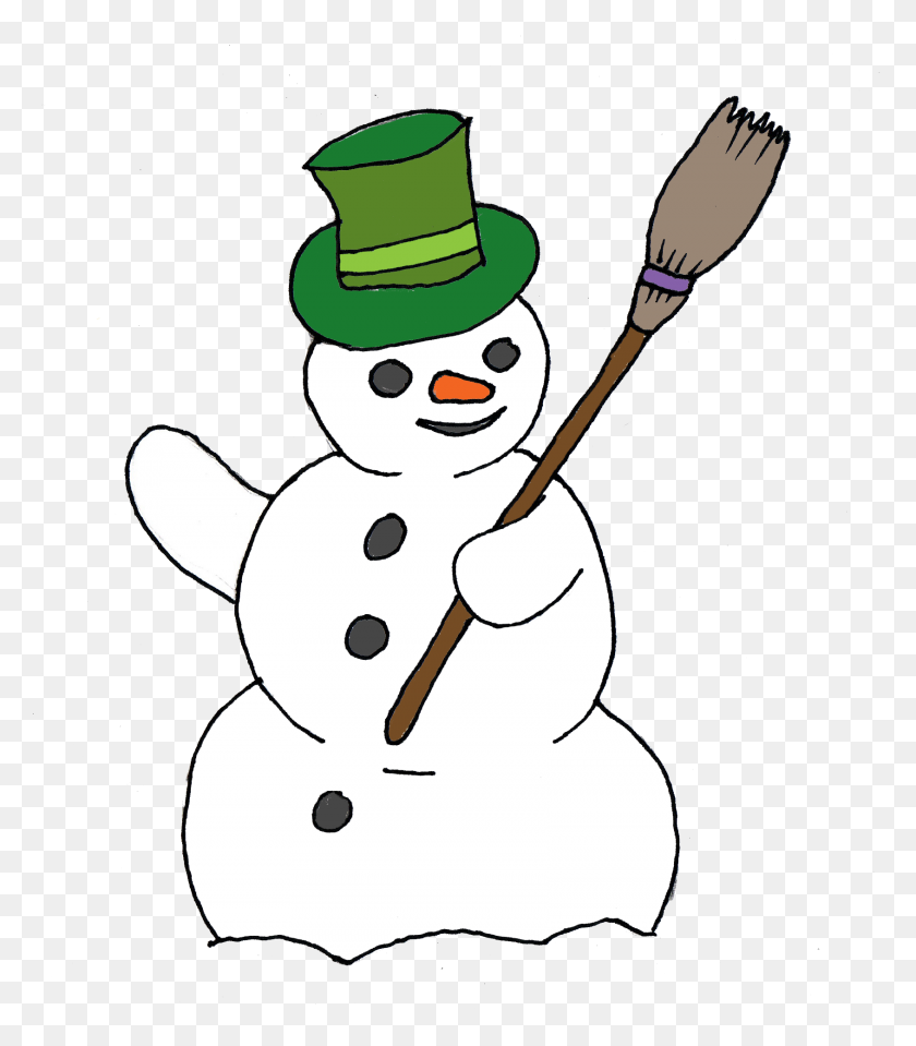 Free Snowman Clip Art Snowmen Snowman, Snowman - Primitive Snowman Clipart Black And White