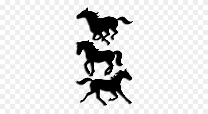 Free Sure Cuts A Lot Running Horses - Running Horse Clipart