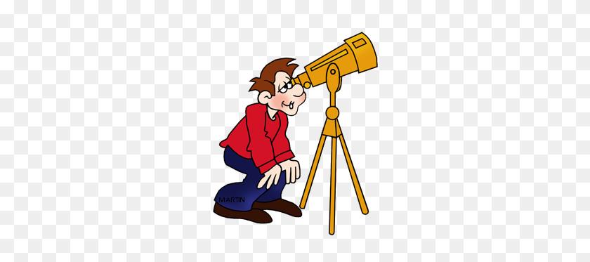 Free Telescopes Clip Art - Milky Way Clipart