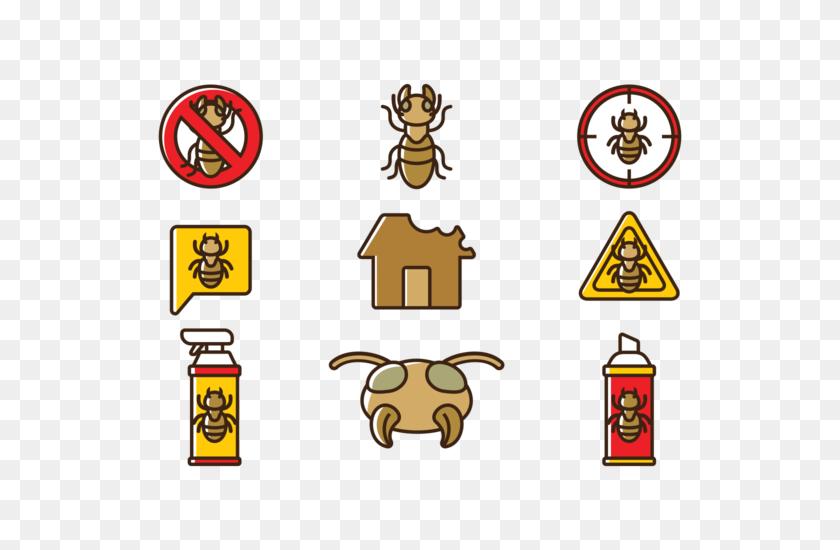 Free Termite Vector Illustration - Termite Clipart