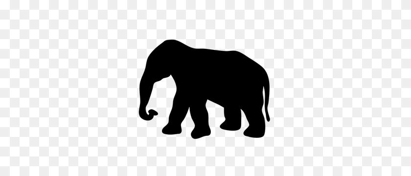 Free Vector Elephant Baby - Mama Bear Clipart Black And White
