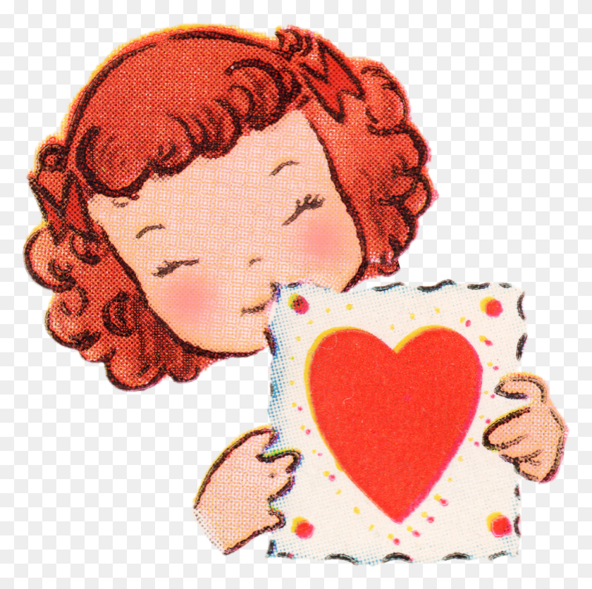 Free Vintage Valentines Day Clip Art - Whatever Clipart