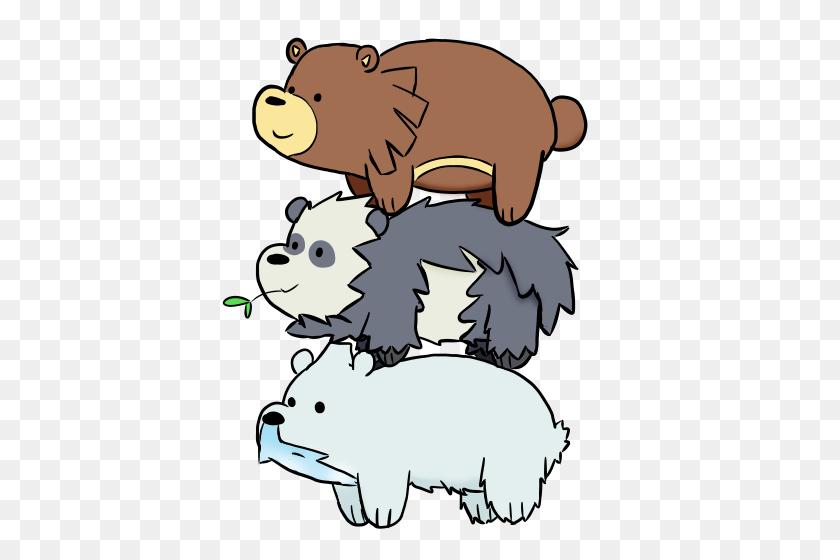 Free We Bare Bear Art! Webarebears Catch'm All - We Bare Bears PNG