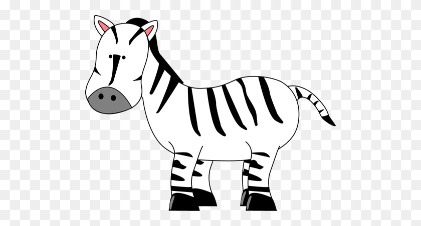 Free Zebra Clipart Preschool Zebra - Z Clipart