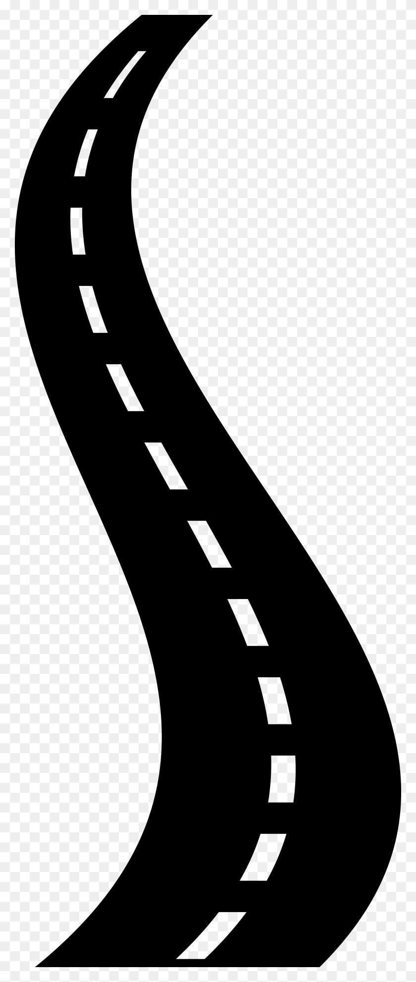 Freeway Clipart Zigzag Road - Zigzag Clipart