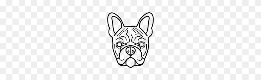 French Bulldog Icons Noun Project - Bulldog PNG