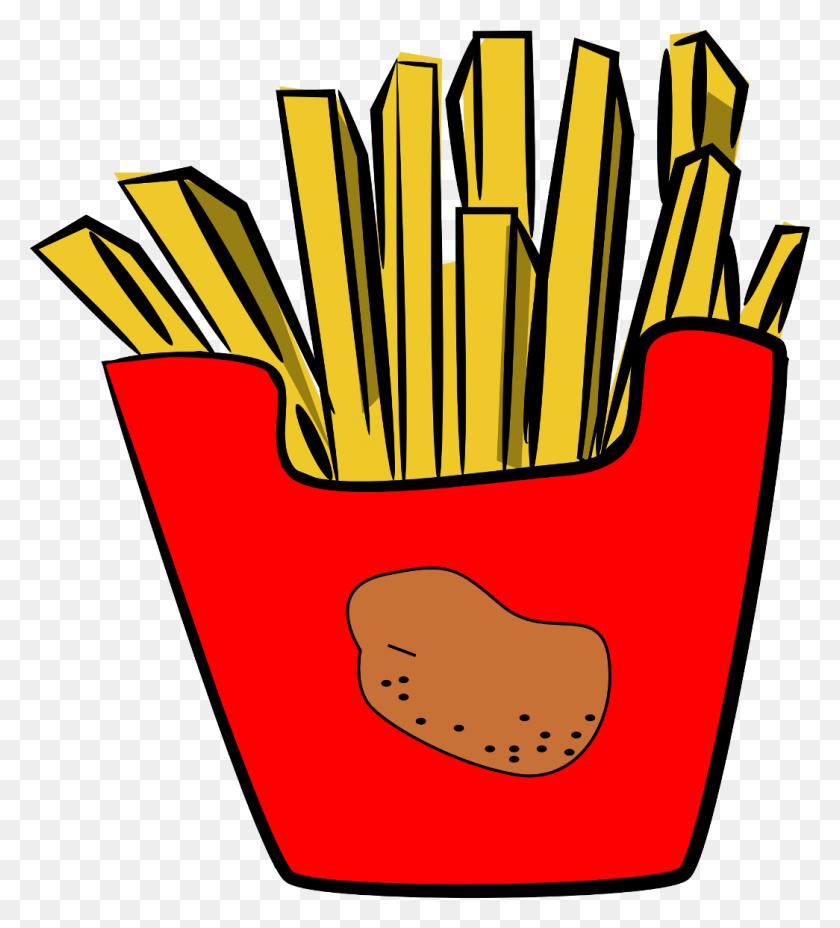 French Fries Hamburger Fast Food Junk Food Clip Art - Junk Food Clipart