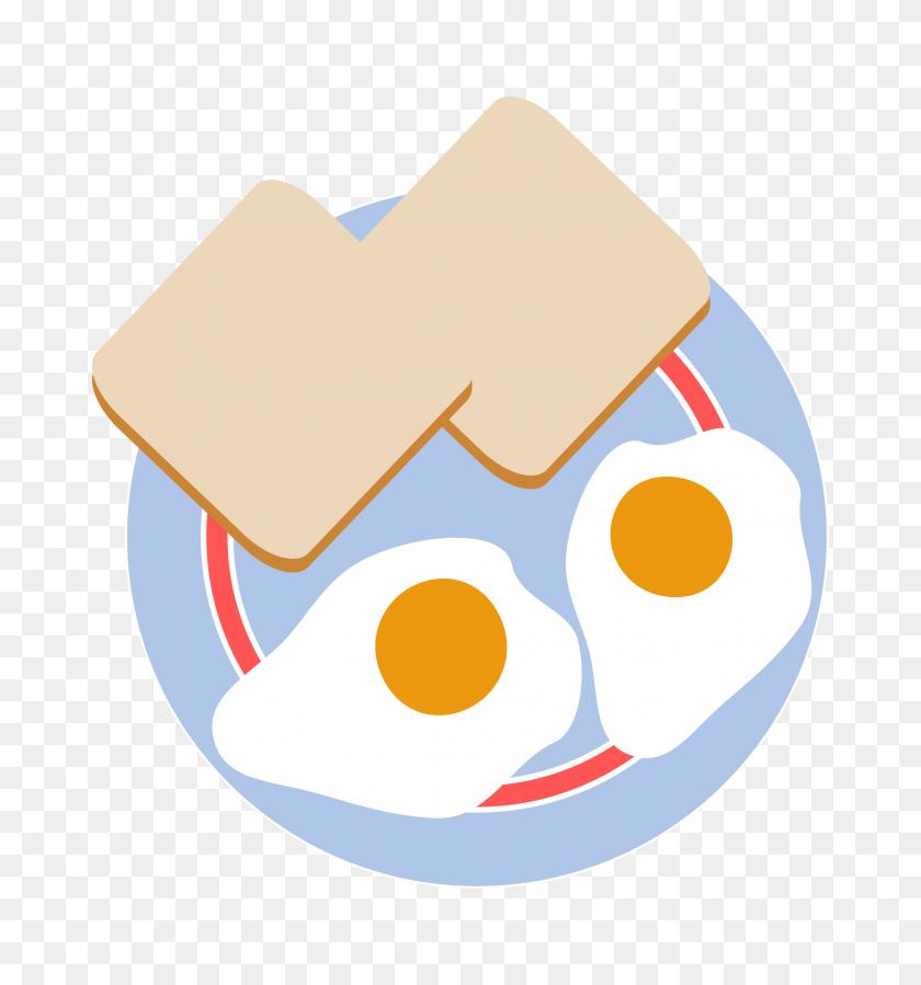 2231x2400 Fried Egg Clipart Eye - Free Egg Clipart